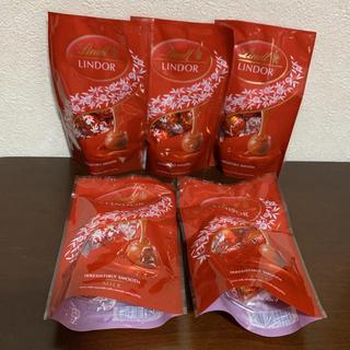 リンツ(Lindt)のリンツ⭐️リンドール⭐️チョコレート⭐️ミルク(菓子/デザート)