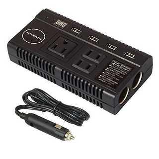 コンバーター カーインバーター 12V 24V両方とも100Vに変換