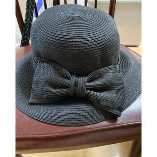 エムズグレイシー(M'S GRACY)の帽子(麦わら帽子/ストローハット)