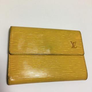 ルイヴィトン(LOUIS VUITTON)のルイヴィトン三つ折り短財布(折り財布)