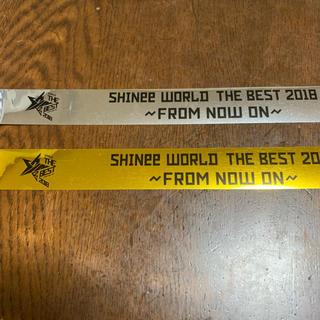 シャイニー(SHINee)のSHINee From Now On 銀テープ 銀テ 金テープ(K-POP/アジア)