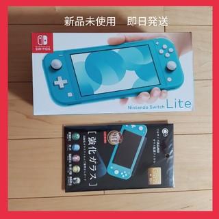 ニンテンドースイッチ(Nintendo Switch)のNintendo Switch lite ターコイズ ニンテンドースイッチライト(家庭用ゲーム機本体)