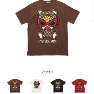 ヒステリックミニ(HYSTERIC MINI)のヒステリックミニ テディモノグラムTシャツ(Tシャツ/カットソー)