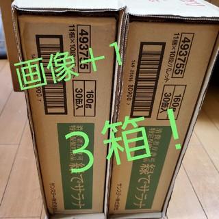 サンスター(SUNSTAR)のSUNSTAR 緑でサラナ 30缶×3ケース(その他)
