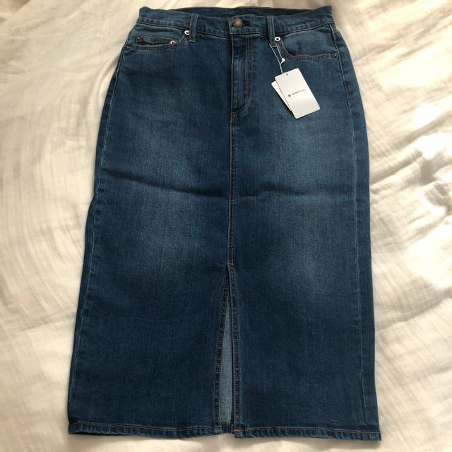 SHIPS(シップス)の新品タグ付 SHIPS デニムスカート レディースのスカート(ひざ丈スカート)の商品写真