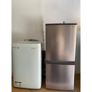 SHARP - 2019年製 ヨドバシ5年延長保証付き 冷蔵庫&洗濯機セット