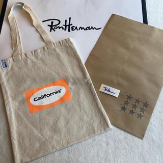 Ron Herman - ロンハーマンカリフォルニアエコバッグ オレンジ新品
