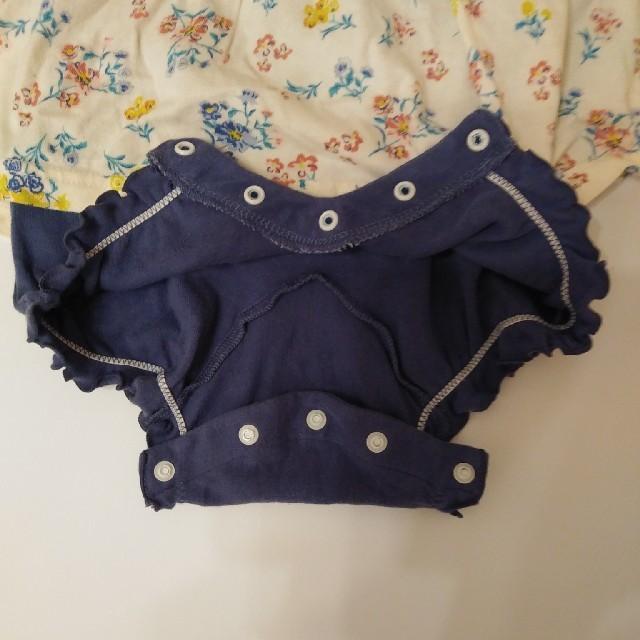 Branshes(ブランシェス)のブランシェス ロンパース80cm キッズ/ベビー/マタニティのベビー服(~85cm)(ロンパース)の商品写真
