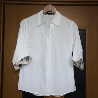 バーバリー(BURBERRY)のバーバリーシャツ Mサイズ(シャツ/ブラウス(長袖/七分))