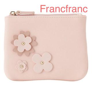 Francfranc - Francfranc フラワーモチーフ ティッシュポーチ 定価¥1600