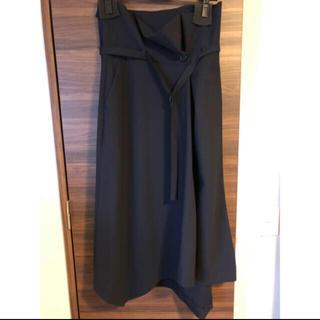 エンフォルド(ENFOLD)のUSED美品 ENFOLD スカートネイビー 36(ロングスカート)