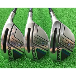 アダムスゴルフ(Adams Golf)のAdams Golf ユーティリティ ハイブリッド 3本セット(クラブ)
