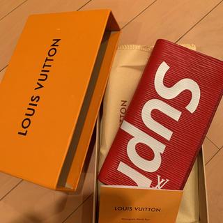 ルイヴィトン(LOUIS VUITTON)のルイヴィトンsupreme財布(長財布)