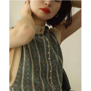 TODAYFUL - todayful ジャガードニットドレス