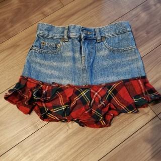 ラルフローレン(Ralph Lauren)の最終値下げ RALPH LAUREN デニムスカート 8(130cm)(スカート)