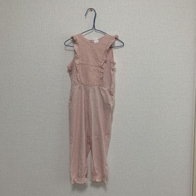 H&M(エイチアンドエム)のオールインワン キッズ/ベビー/マタニティのキッズ服女の子用(90cm~)(パンツ/スパッツ)の商品写真