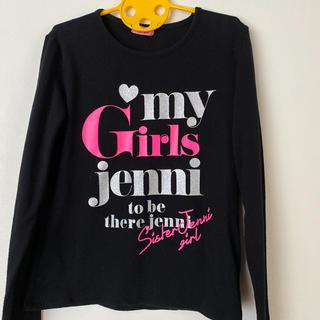 ジェニィ(JENNI)のシスタージェニィ ロンT 160㎝ お洒落 カットソー ロック パンク(Tシャツ/カットソー)