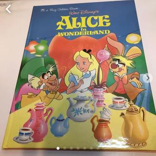 Disney - ディズニー 不思議の国のアリス 洋書 ヴィンテージ