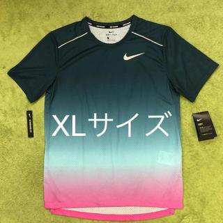 ナイキ(NIKE)のNIKE ランニング Tシャツ 風車 メンズXL レア商品(Tシャツ/カットソー(半袖/袖なし))