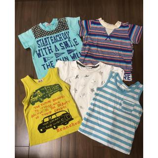 ブランシェス(Branshes)の90 ブランシェス Tシャツ まとめ売り(Tシャツ/カットソー)