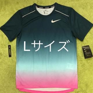 ナイキ(NIKE)のNIKE ランニング Tシャツ 風車 メンズL レア商品(Tシャツ/カットソー(半袖/袖なし))