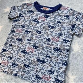 mikihouse - 美品 ミキハウス Tシャツ 車柄 サイズ100