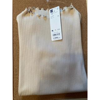 ジーユー(GU)のリブメローコンパクトT(Tシャツ(半袖/袖なし))