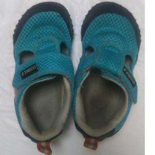 ダブルビー(DOUBLE.B)の15㎝ ダブルB サンダル 夏 キッズ靴 (サンダル)
