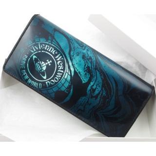 ヴィヴィアンウエストウッド(Vivienne Westwood)の送料無料☆新品/箱付 ヴィヴィアンウエストウッド 長財布 ブルー(長財布)