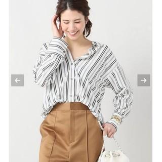 IENA - イエナ♡バックスリットストライプシャツ 36