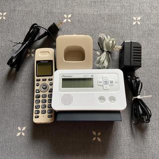 パイオニア(Pioneer)のPioneer コードレス電話機 TF-FD30S(その他)