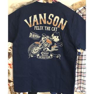 バンソン(VANSON)の新品★VANSON Tシャツ フィリックス ネイビー(Tシャツ/カットソー(半袖/袖なし))