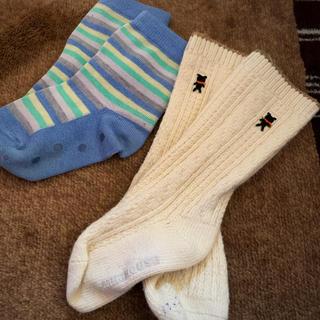 ファミリア(familiar)のファミリア とミキハウス 靴下セット(靴下/タイツ)