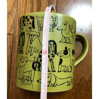 リサラーソン(Lisa Larson)の3080円 リサラーソン マグカップ スケッチ 犬 オリーブ 日本製 コップ(グラス/カップ)