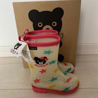 ダブルビー(DOUBLE.B)の新品☆ダブルビー 長靴 14㎝(長靴/レインシューズ)