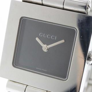 グッチ(Gucci)の■ GUCCI 腕時計 600J クォーツ レディース シルバー 箱付き 動作品(腕時計)