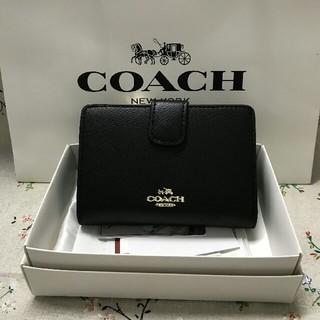 コーチ(COACH)のCOACH二つ折り財布で国内発送 F53436(折り財布)