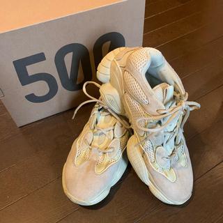 アディダス(adidas)のYEEZY 500 SUPER MOON YELLOW 27cm(スニーカー)