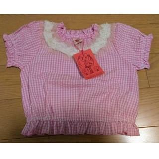 フォーティーワン(FORTY ONE)のフォーティーワン ギンガムチェック 100サイズ(Tシャツ/カットソー)