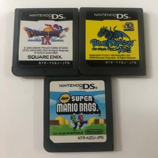 ニンテンドーDS(ニンテンドーDS)のDS ドラゴンクエストIX ブルードラゴン スーパーマリオブラザーズ(携帯用ゲームソフト)
