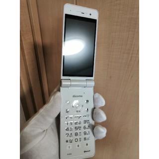 エヌティティドコモ(NTTdocomo)の新品NTTドコモ P01-G ホワイト(携帯電話本体)