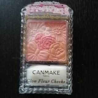キャンメイク(CANMAKE)のキャンメイク グロウフルールチークス 01号(チーク)