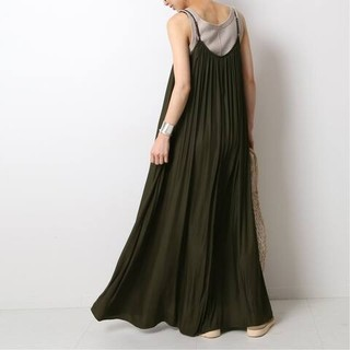 DEUXIEME CLASSE - 新品■Sun Dress■カーキ■ドゥーズィエムクラス