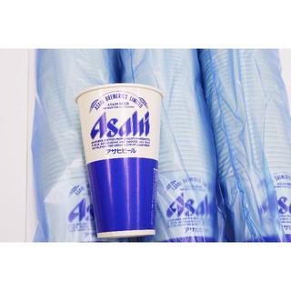 アサヒ(アサヒ)の紙コップ アサヒビールロゴ入 25個入り×6 150個セット(容器)