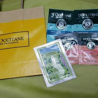 ロクシタン(L'OCCITANE)のロクシタン L'OCCITANE サンプル シャンプー コンディショナー ジェル(サンプル/トライアルキット)