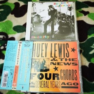 ヒューイルイス&ザ ニュース CD2枚セット!国内盤(ポップス/ロック(洋楽))
