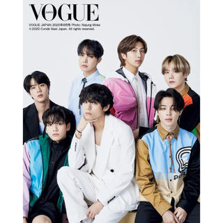 ボウダンショウネンダン(防弾少年団(BTS))のVOGUE JAPAN 8月号 BTS(その他)