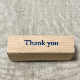 スヌーピー(SNOOPY)のこどものかお スタンプ thank you はんこ(はんこ)