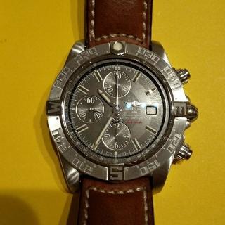ブライトリング(BREITLING)の【美品】ブライトリング ギャラクティック2 クロノグラフ 限定 A13364(腕時計(アナログ))