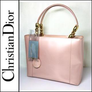 クリスチャンディオール(Christian Dior)のクリスチャンディオール  バッグ マリスパール ピンク×ゴールドレディース(ハンドバッグ)